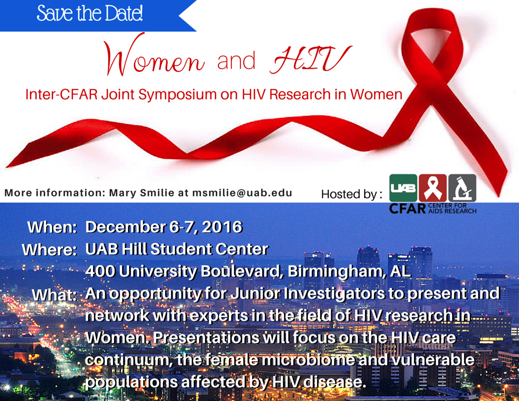 InterCFAR Women and HIV mtg Flyer